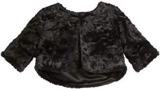 Zoe Faux Fur Bolero, Size S-L