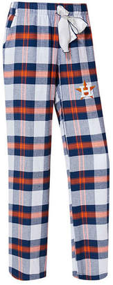 College Concepts Women's Houston Astros Headway Flannel Pajama Pants