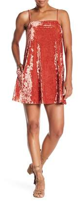 RVCA Satisfaction Crushed Velvet Dress
