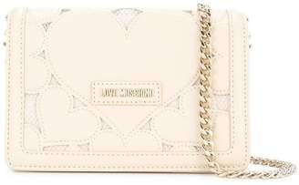 Love Moschino hearts chain strap crossbody bag