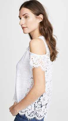 Generation Love London Lace Cold Shoulder Tee