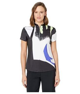 Jamie Sadock Thunderbird Print Short Sleeve Top