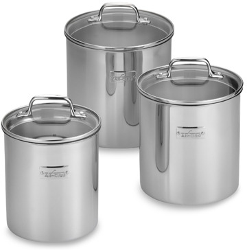 All-Clad Food Canisters (Set of 3)