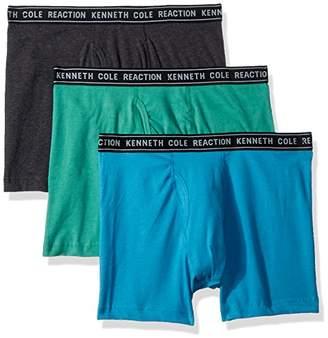 Kenneth Cole Reaction Men's 3 Pack Basic Boxer Brief