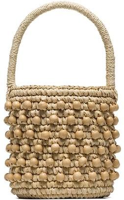 Sensi Studio mini woven bucket bag