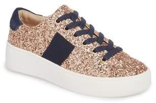 Steve Madden Belle-G Glitter Platform Sneaker