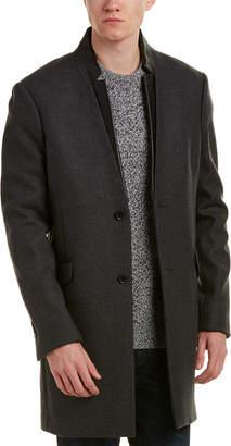 The Kooples Wool-Blend Coat
