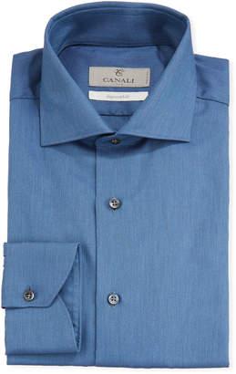 Men's Impeccabile 2-Ply Cotton Oxford Dress Shirt