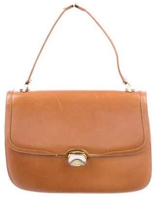 Gucci Vintage Leather Top Handle Bag