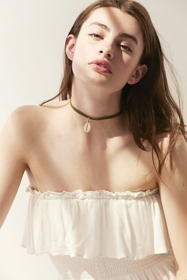 Urban Outfitters Tula Single Shell Choker Necklace $16 thestylecure.com