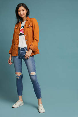 Paige Verdugo Low-Rise Cropped Skinny Jeans