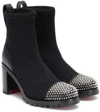 a63f162b515e Christian Louboutin Black Rubber Boots For Women - ShopStyle Canada