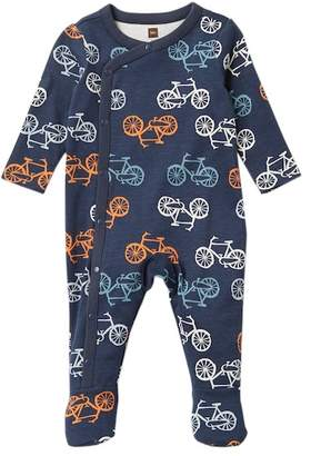 Tea Collection Cycle Footed Romper (Baby Boys)