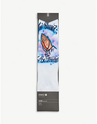 Stance Airbrush Blessed cotton-blend socks