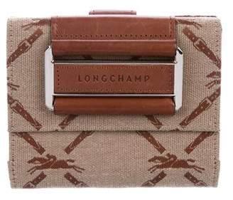 Longchamp Compact Flap Wallet