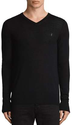 AllSaints Mode Merino V-Neck Sweater