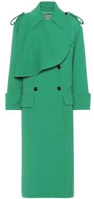 Valentino Wool-crêpe coat