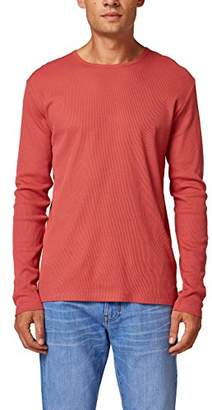 Esprit edc by Men's 088cc2k006 Long Sleeve Top