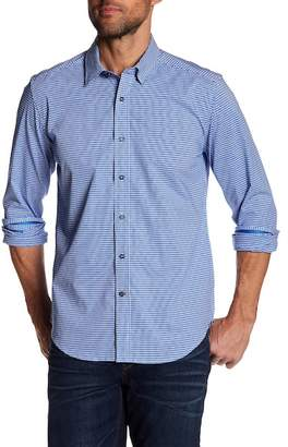 Robert Graham Slim Fit Houndstooth Dress Shirt