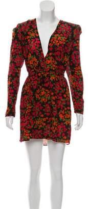 The Kooples Silk Floral Print Dress w/ Tags
