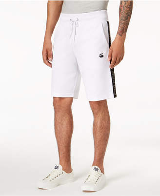 G Star Men's Logo-Print Athletic Shorts, Created for Macy's