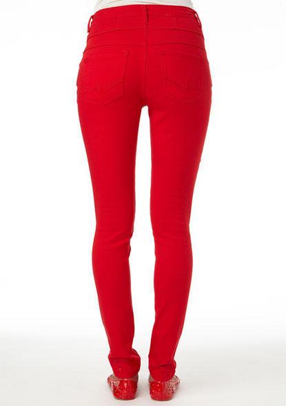 Delia's Color High Waist Skinny Jean
