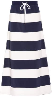 Tsumori Chisato Striped Jogging Maxi Skirt