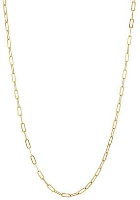 Cathy Waterman Women's Yellow Gold Oval-Link Chain Necklace - Gold