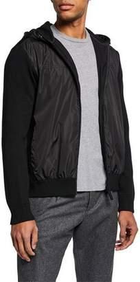 Canada Goose Men's WindBridge Wool & Nylon Hoodie Jacket