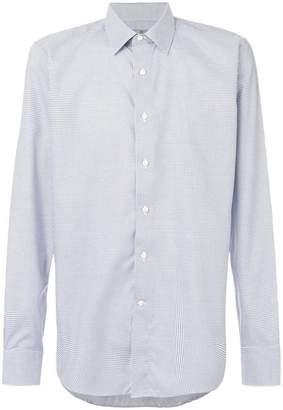 Canali checked shirt