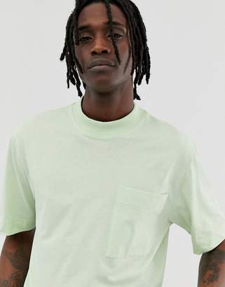 Asos loose fit t-shirt in mint green