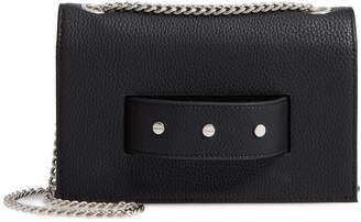 MALI AND LILI Mali + Lili Jane Studded Vegan Leather Crossbody Bag
