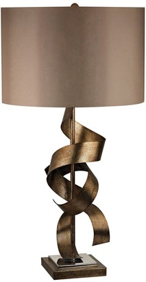 Dimond LED Free Form Metal Antique Table Lamp
