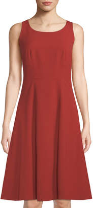 Lafayette 148 New York Angelee Sleeveless A-line Dress