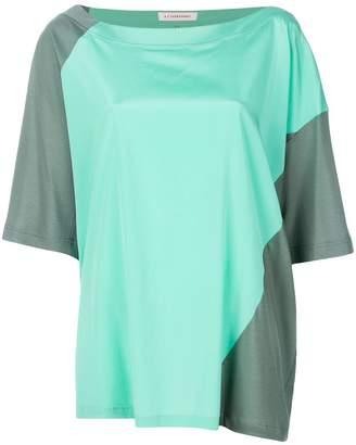 A.F.Vandevorst oversized colour block T-shirt