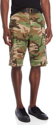 Levi's Camouflage Belted Cargo Shorts