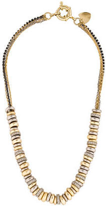 Giles & Brother MultiStrand Crystal Ring Necklace $125 thestylecure.com