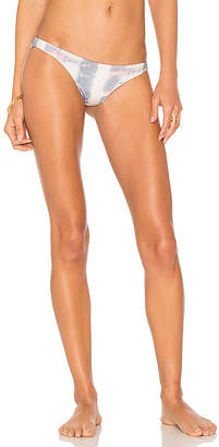vitamin A Samba Ruched Back Bottom in Beige $89 thestylecure.com
