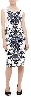 Phase Eight Whitney Placement Print Sleeveless Dress