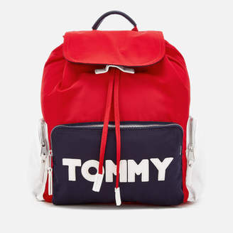 Tommy Hilfiger Women's Tommy Nylon Backpack - Corporate