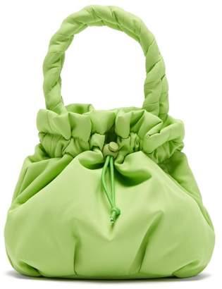 STAUD Stella Plaited Handle Drawstring Bag - Womens - Green