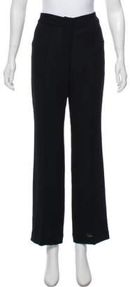 Ulla Johnson Wool Mid-Rise Wide-Leg Pants