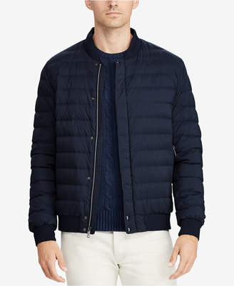 Polo Ralph Lauren Men Packable Down Baseball Jacket