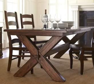 Pottery Barn Toscana Extending Dining Table & Wynn Chair Set