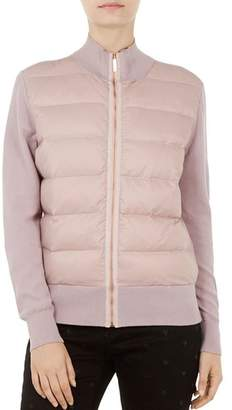Ted Baker Ted Says Relax Xinta Quilted-Front Down Jacket