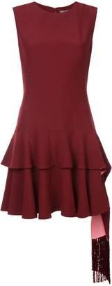 Alexander McQueen frill-trim sleeveless dress