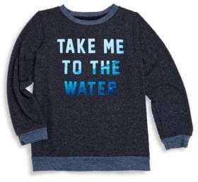 Sol Angeles Little Boy's & Boy's Water Crewneck Sweater