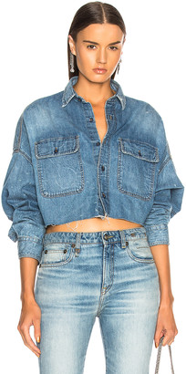 R 13 Cropped Shirt