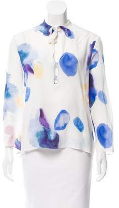 Cacharel Printed Long Sleeve Top