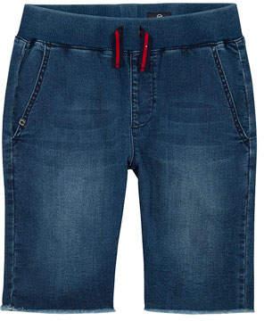 AG Jeans Boys' The Brex Denim Bermuda Shorts w/ Knit Waistband, Size S-L